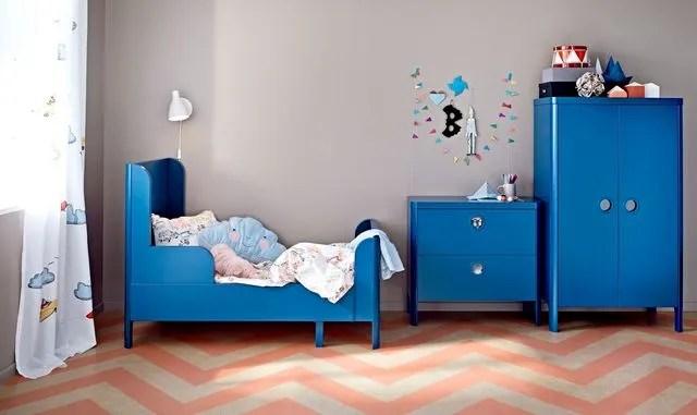 Ikea Chambre Bebe Enfant Lit Evolutif Linge De Lit Coussins Cote Maison