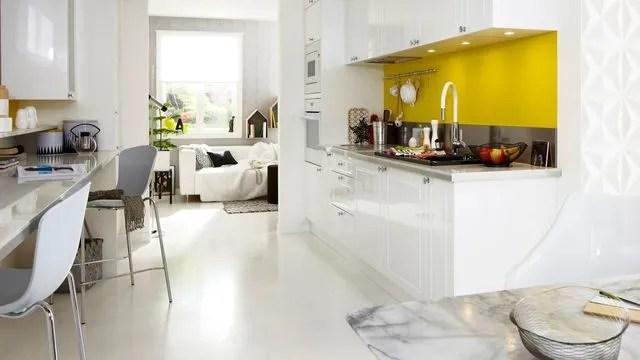 cuisine ouverte de 4 a 8 m2
