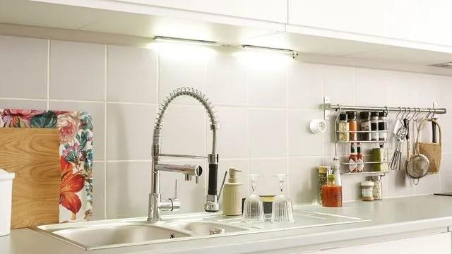 eclairage cuisine led spot les