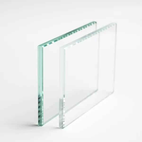 verre sur mesure trempe extraclair 8 mm
