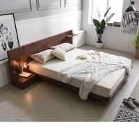 삼익가구 디엔 멀바우 헤드형 침대(슬립웰 7존 독립 매트리스-퀸), 멀바우브라운 (TOP 85591394)