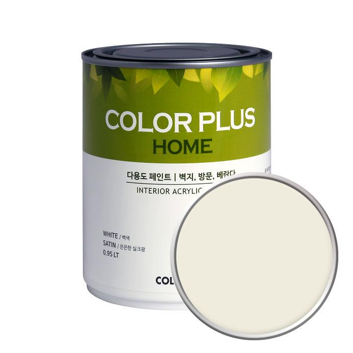 노루페인트 컬러플러스 홈 페인트 1L, 오트밀