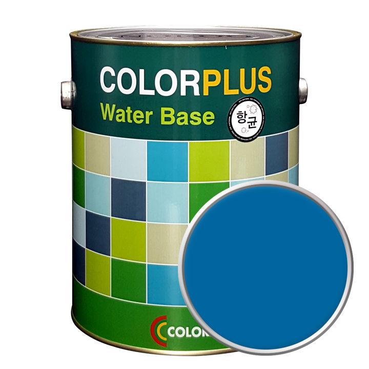노루페인트 컬러플러스 페인트 4L, 코발트블루