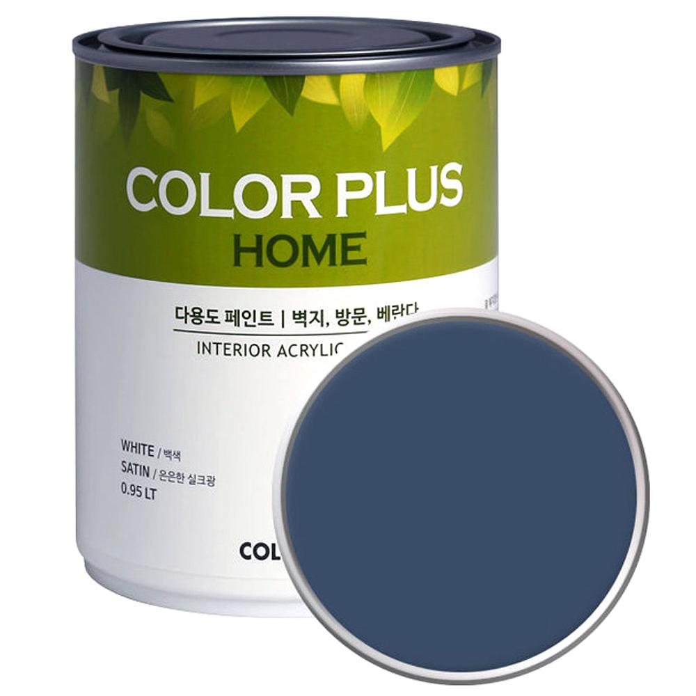 노루페인트 컬러플러스 홈 페인트 1L, 다니엘블루 (SP4170)