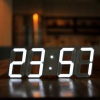 무아스 빅사이즈 듀얼컬러 LED 벽시계 (TOP 22492249)