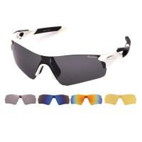 오클렌즈 교체형 스포츠  프레임 + 렌즈 5p 세트 XG300, 프레임(화이트 + 블랙) (TOP 62321919)