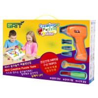 그릿 유아용 전동드릴 장난감 볼트와 너트 공구놀이, 혼합 색상 (TOP 174663154)