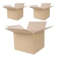 코멧 택배 이사용 종이박스 AB골, 520 x 480 x 400mm, 3개 (TOP 1491119378)
