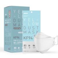 클로저 에버그린 끈조절 황사 방역용 마스크 184 소형 KF94, 20매입, 1개 (TOP 159702921)