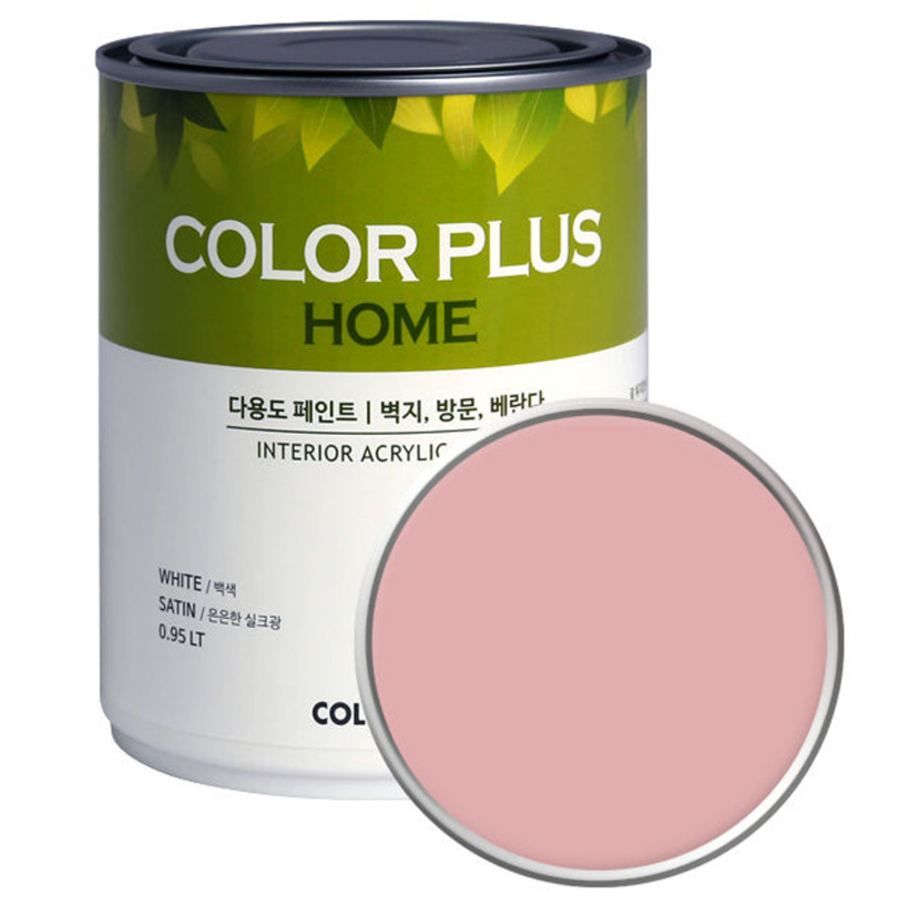 노루페인트 컬러플러스 홈 페인트 1L, 블로썸 (SP5080)