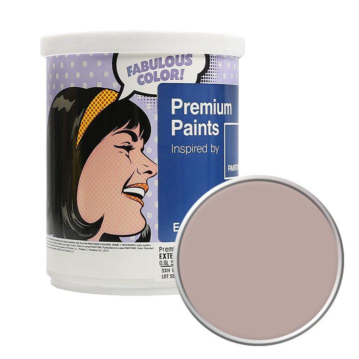 노루페인트 팬톤 외부용 실외 저광 페인트 1L, 16-1509 Shadow Gray