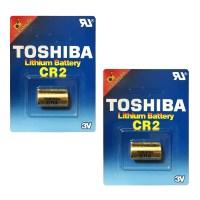 도시바 리튬전지 카메라용 CR2 GU, 1개입, 2개 (TOP 108162610)
