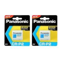 파나소닉 카메라용 리튬 6V 카메라용 건전지 CR-P2, 1개입, 2개 (TOP 182310515)