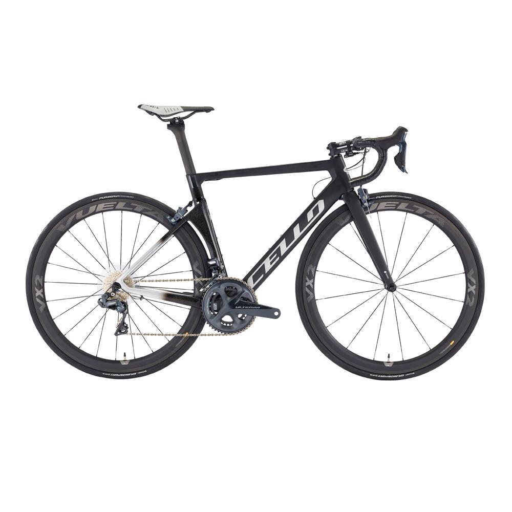 삼천리자전거 첼로 엘리엇 C S8 DI2 22단 700C 카본로드 자전거, 블랙 + 나이트스카이