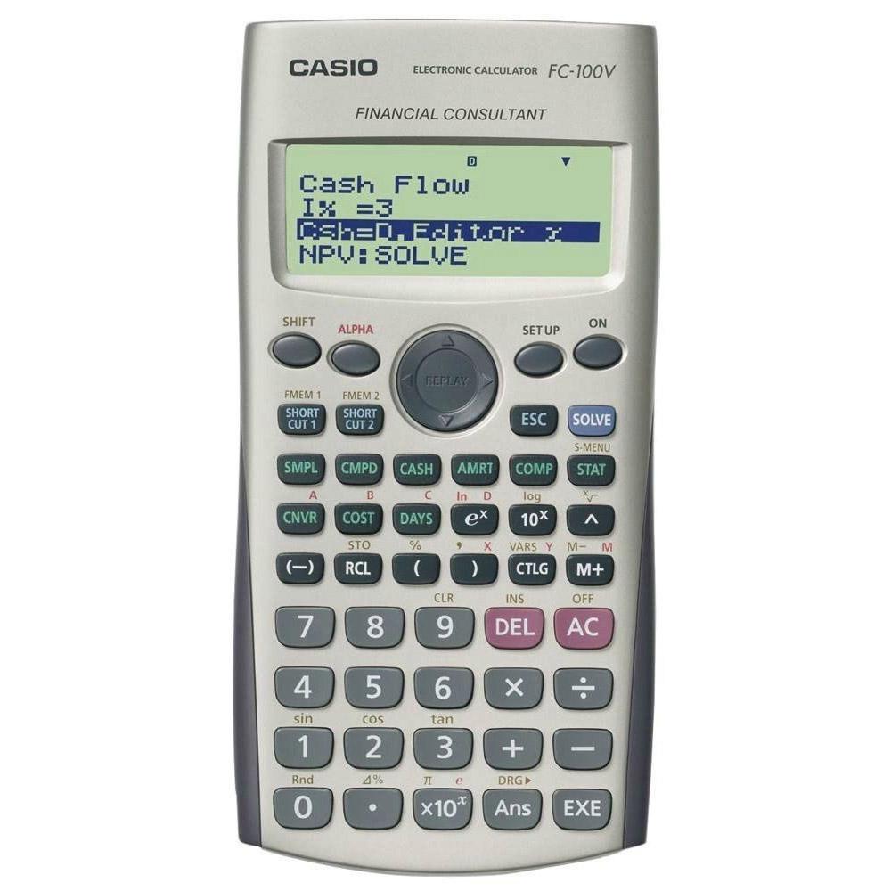 카시오 재무계산기, FC-100V