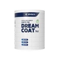 제비스코 드림코트 타일 페인트 0.9L, 화이트 (TOP 220850862)