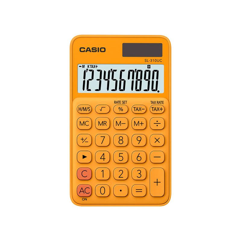 카시오 휴대용 계산기 SL-310UC, RG