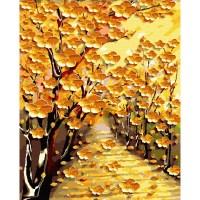 아트조이 DIY 골드펄 명화그리기 세트 60 x 75 cm, 황금꽃길 (TOP 298381732)