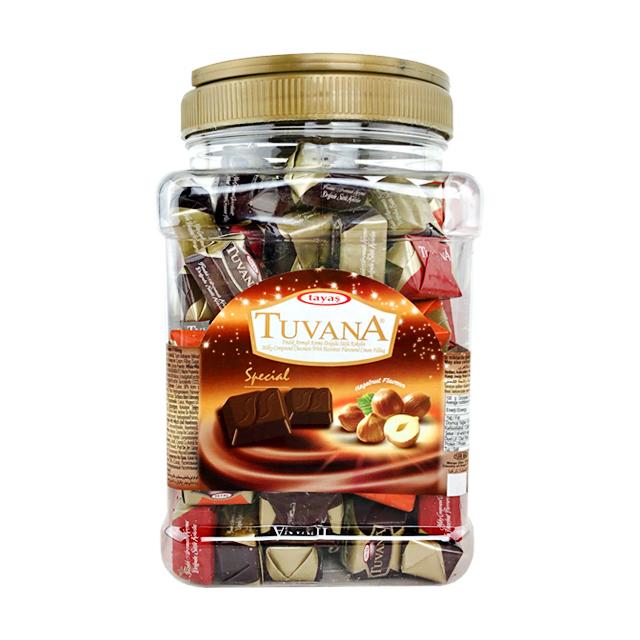 타야스 투바나초콜릿 대용량 사각통, 1kg, 1개