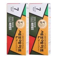 동성제약 세븐에이트 새치 염모제, 7호 흑갈색, 2개 (TOP 1448924522)