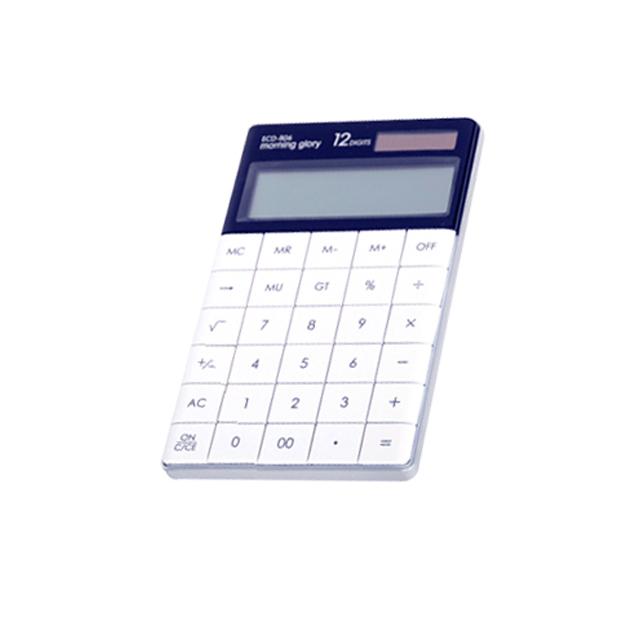 모닝글로리 플랫 컬러 계산기 20000 ECD-806, 화이트