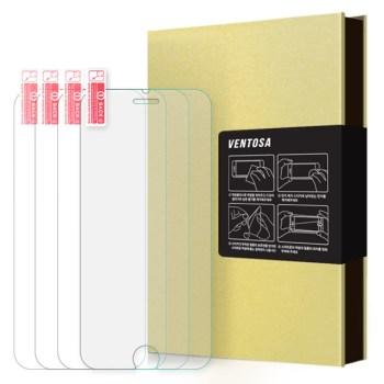 아이폰se2 강화유리 - 벤토사 9H 강화유리 휴대폰 액정보호필름 4p 세트, 1세트