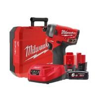 밀워키 임팩트 드라이버 2 + 충전기 + 배터리 2p + 케이스 세트 M12FID, 1세트 (TOP 2055243538)