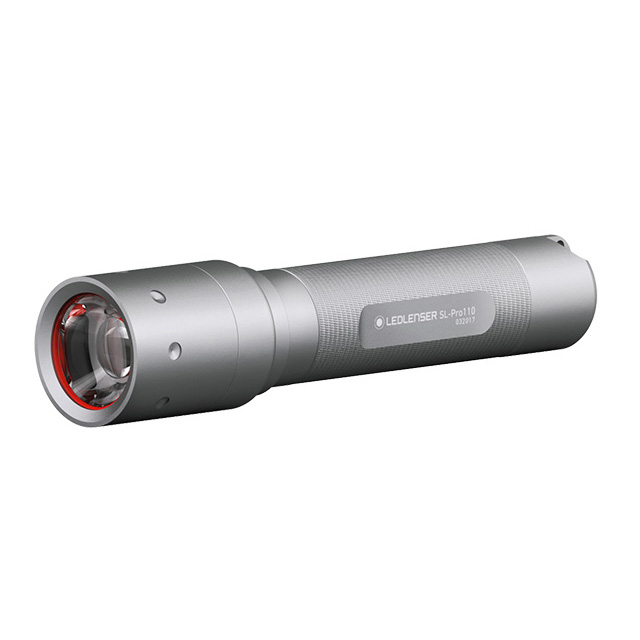 레드렌서 LED 손전등 SL-Pro110, 실버, 1개