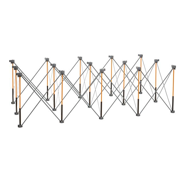 boraportamate 목공 이동식 합판 판넬 선반 접이식 테이블 작업대 15발 K15S, 1개