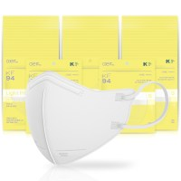 아에르 스탠다드 라이트핏 보건용 마스크 백색 소형 KF94, 1개입, 50개 (TOP 5354242550)