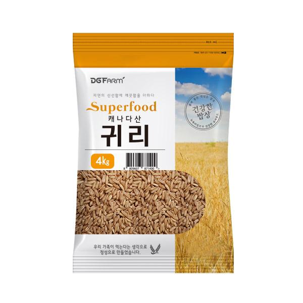 대구농산 캐나다산 귀리쌀, 4kg, 1개
