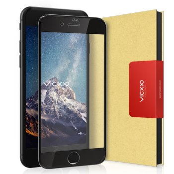 아이폰se2 강화유리 - 빅쏘 4D 풀커버 강화유리 휴대폰 액정보호필름 블랙, 1개