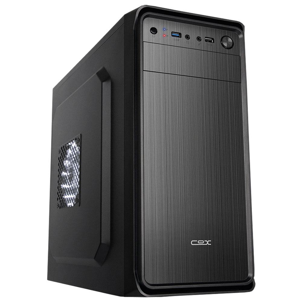 아싸컴 사무용 조립PC AS-AL12W (셀러론 G4930 WIN10 Home RAM 4GB SSD 128GB) + 게이밍 장패드, 기본형