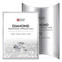 에스엔피 다이아몬드 브라이트닝 앰플 마스크, 10개입, 1개 (TOP 46233412)