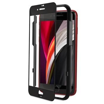 아이폰se2 강화유리 - 신지모루 풀커버 강화유리 3D 휴대폰 액정보호필름, 1개