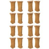 베이스알파에센셜 의자 소음방지커버 16개 세트, 베이지 (TOP 1685611555)