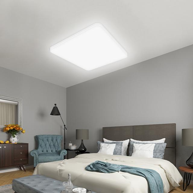 LED 웨이브 방등 50W 500 x 500 x 40 mm, 주광색