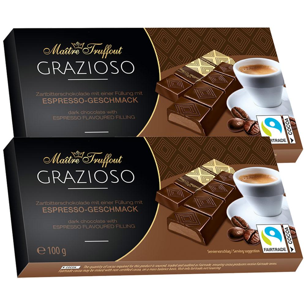 그라찌오소 에스프레소 초콜릿, 100g, 2개입