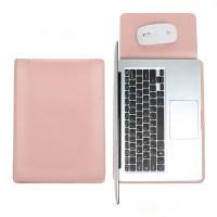 아카빌라 삼성 갤럭시북 플렉스2 프로 360 이온 2 패드겸용 슬리브 노트북 파우치, 베이비핑크 (TOP 1153596409)
