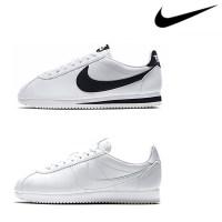 [나이키] 클래식 코르테즈 레더 W 여성 운동화 신발 스니커즈 흰검 807471-101 (TOP 323032948)