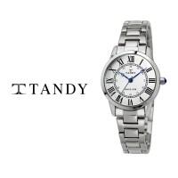 탠디 TANDY 클래식 커플 메탈 손목시계 T-3714 여자 화이트(탠디 쇼핑백 증정) (TOP 336340257)