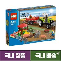 레고 LEGO 시티 돼지 농장과 트렉터 7684 (TOP 1852421098)