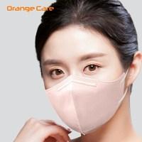 [여름용 마스크]오렌지케어 핑크색 귀편한 숨편한 항균 마스크 중형 1매입 (비말차단 2D 항균 99.9%차단 100% 국내산 재료 입냄새 NO), 오렌지케어 귀편한 숨편한 항균마스크 핑크1매입 (TOP 5380299521)