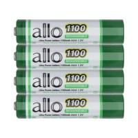 제이티원 allo 1100mAh AAA 충전지 4알(케이스포함), 1세트, 4개입 (TOP 15188688)