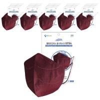 웰빙파인더스 국산 KF94 마스크 새부리형 대형 4컬러 패션 블랙 컬러마스크 50매x1박스, 웰빙파인더스/KF94/대형, 분홍(와인)50매 (TOP 5300936538)