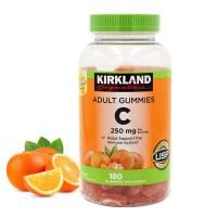 커클랜드 시그니처 어덜트 성인 비타민C 250 mg 180 구미 오렌지맛 (TOP 5583507849)