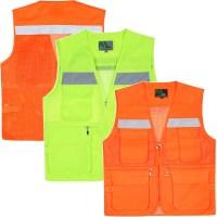 노블진 TC 형광 망사조끼 작업복 남성등산조끼 안전조끼 (TOP 5587055972)