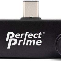 PerfectPrime IR202 (IR) 적외선 열화상 카메라 4800 픽셀 스마트폰 연동(미국 정품), Android 용 (TOP 5638010115)