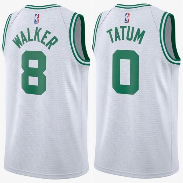 864403 나이키 NBA 보스턴 셀틱스 Association Edition 스윙맨 져지 켐바/테이텀 유니폼 화이트