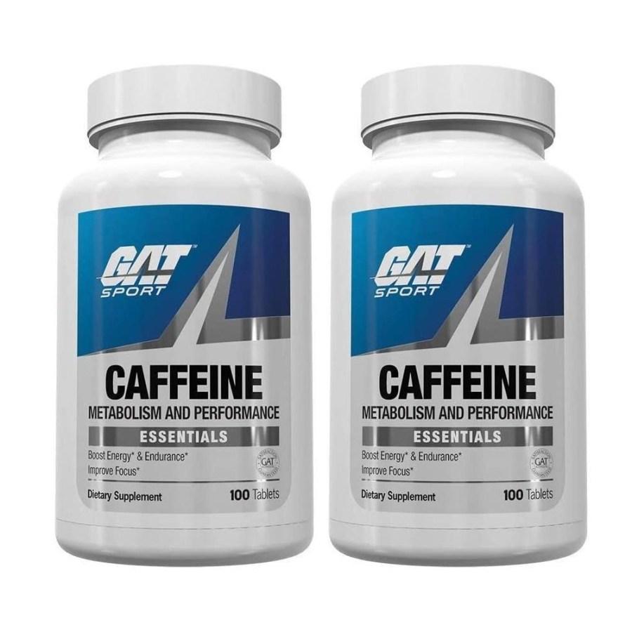 GAT 운동 카페인 알약 200정 스포츠 에센셜, 2팩